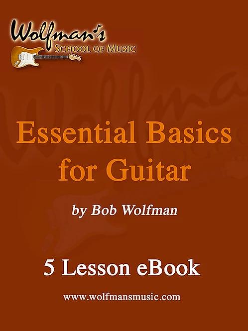 Essential Basics for Guitar (5 Lessons)