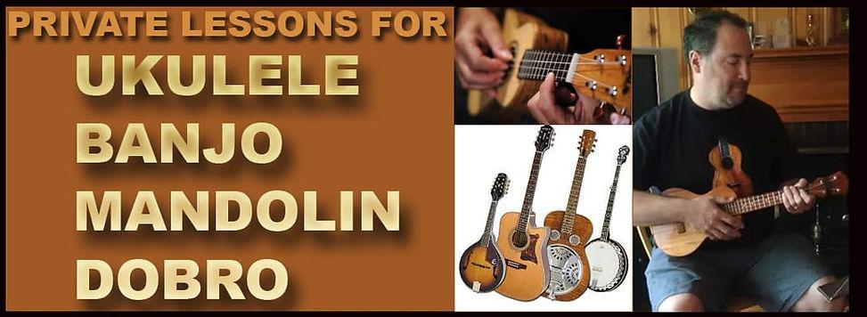 Ukulele, Banjo Lessons