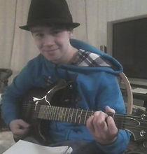 Corey Bishop - guitar student