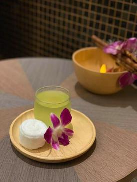 Thailand spa2 welcome tea