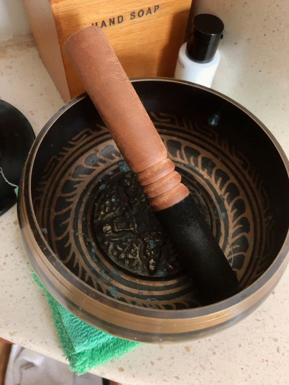 bali spa healing bowl