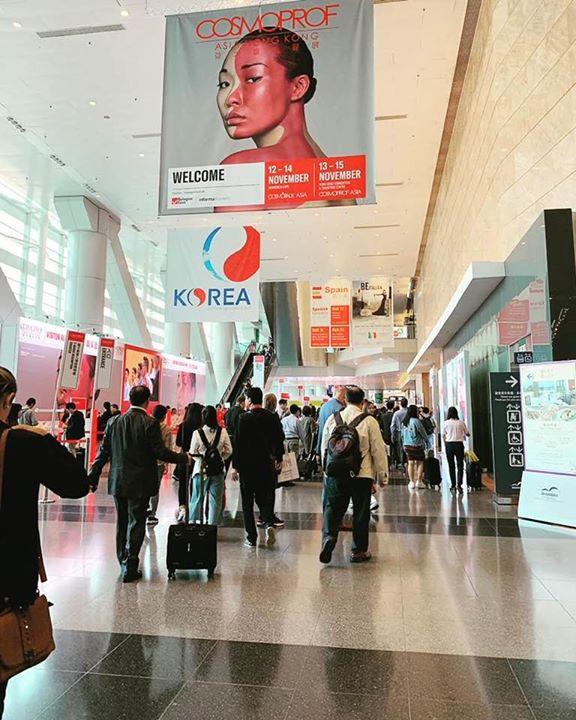 ASIA beauty Exhibition at Hong Kong