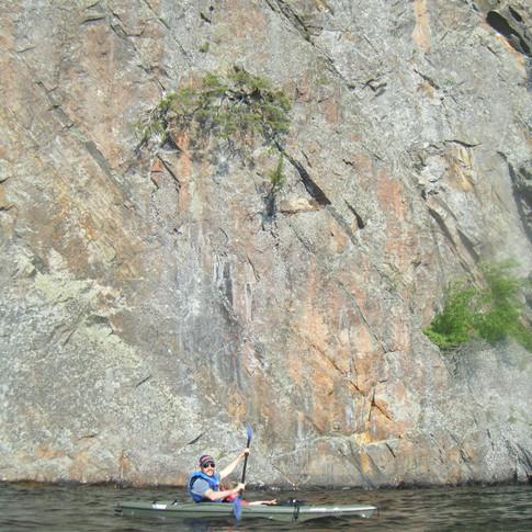 Kayacking Bon Echo