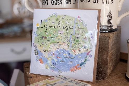 Lyme Regis Card