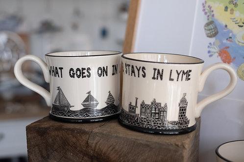 Lyme Regis Mug #1