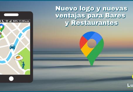 Google Maps: Nuevo logo y nuevas ventajas para Bares y Restaurantes