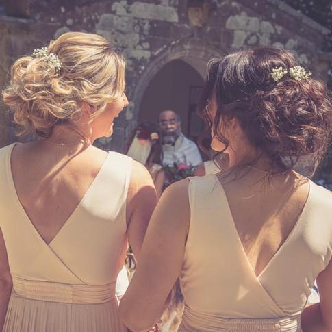 Wedding hair Cornwall