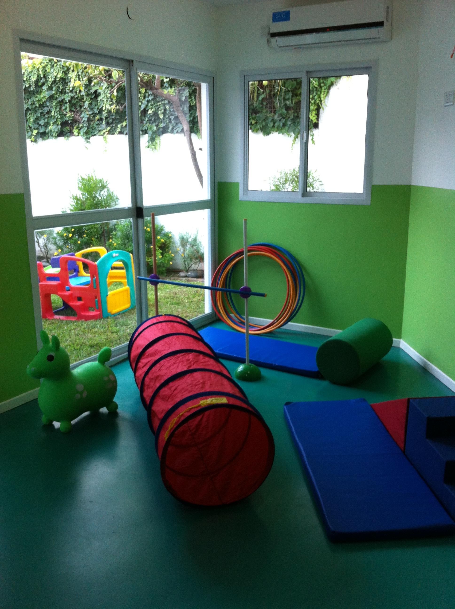 Sala verde - materiales