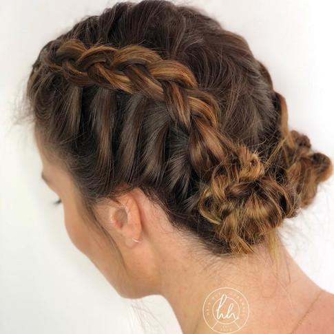 Plaits, braids, Hair Hut, Cornwall
