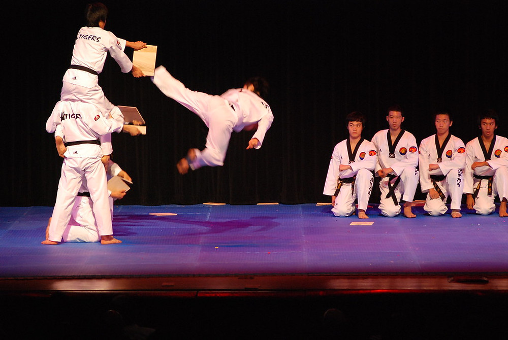 Tae Kwon Do activity