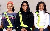 Three Penguin Patrol Students