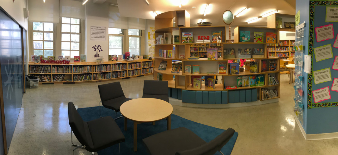 meeting area in the library
