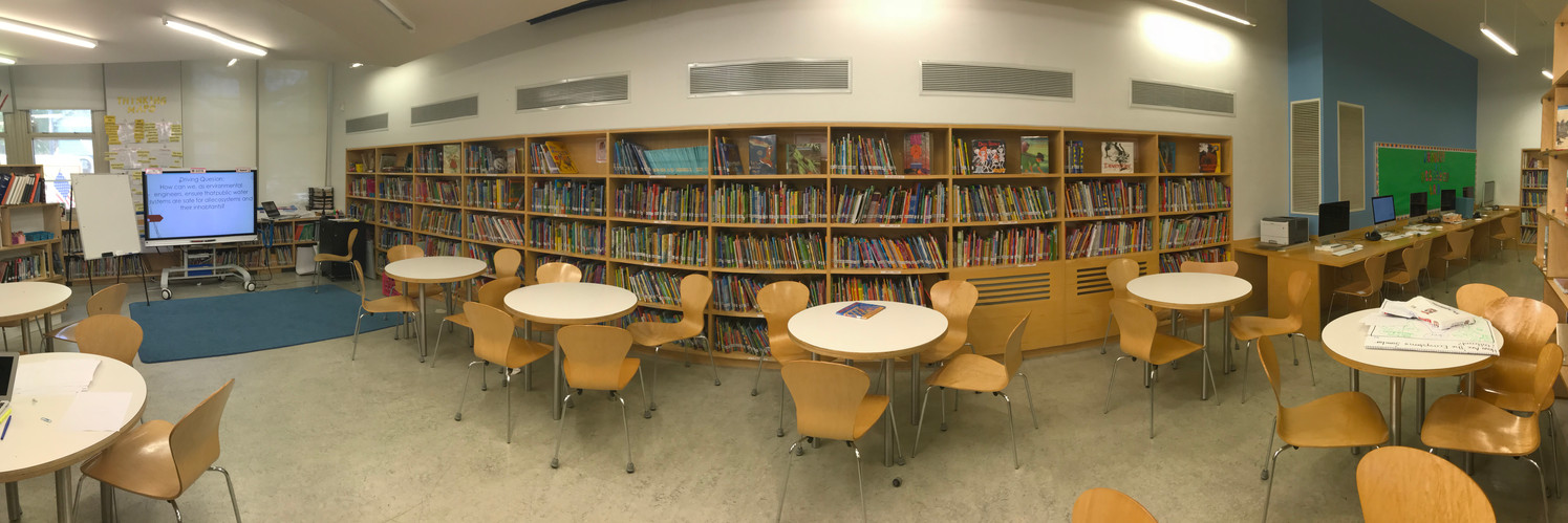 The lesson center of the library