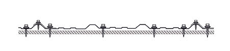 PBR Line Drawing with Fastener Pattern -