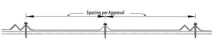 VMax Fastener Pattern 1 Line Drawing - U