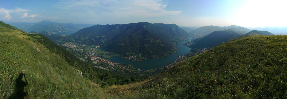 Lago d'Endine e Lago d'Iseo