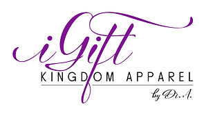 iGift Kingdom Apparel Logo text only FIN
