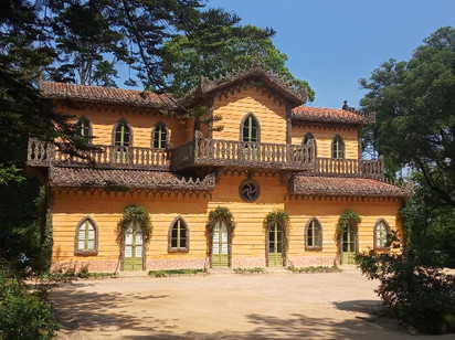 Chalet da Condessa d'Edla no Parque da Pena
