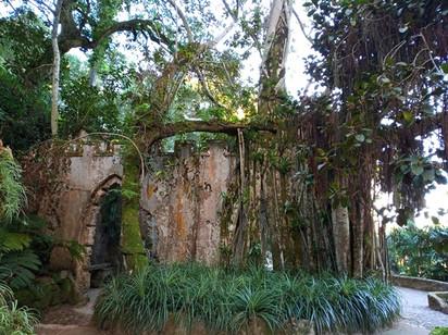 Ruína no Parque de Monserrate