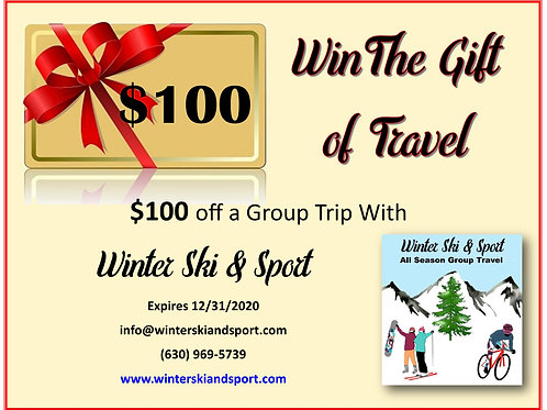$100 Gift Certificate for $75!