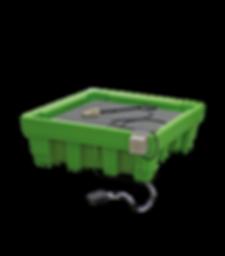 Bio-Circle Clean Box Max 1 puhditusalusta suurien ja painavien kappaleiden puhdistukseen