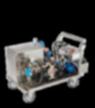 Bio-Circle putkistojen, jäähdytyskanavien ja muiden kanavien puhdistuslaite