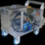 Bio-Circle RWR putkistojen, jäähdytyskanavien ja kanavien puhdistuslaite