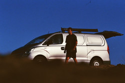 Van on the Horizon