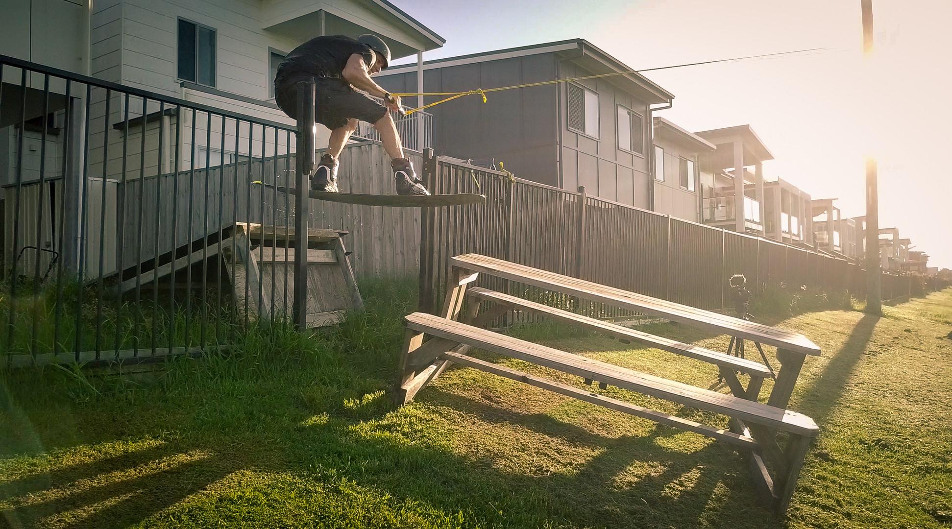 Jacob kicker through gate mackay.jpg