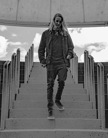 Jacob black and white stairs photo small