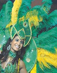 רקדנית סמבה , רקדניות סמבה , קרנבל ברזילאי