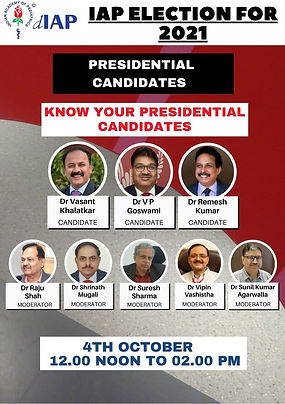 IAP Election For 2021 Presidential Candidates Debate