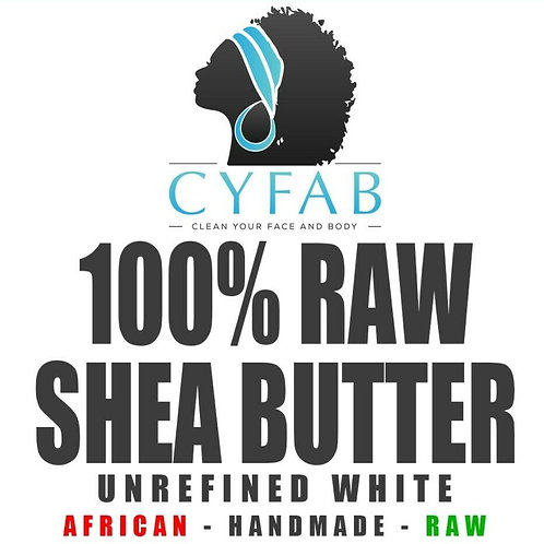 Shea Butter 8oz Unrefined