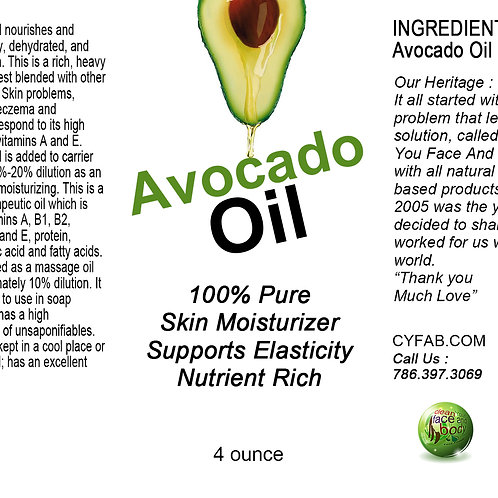 Avocado Oil 4oz