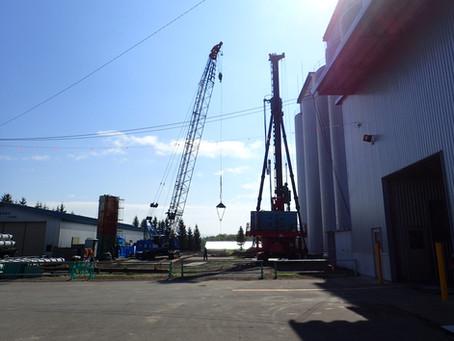 K農協様向け 麦乾施設の増設工事