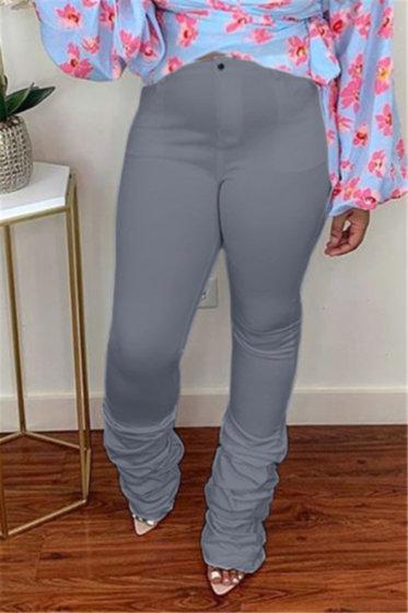 Fit Pleaded Pants