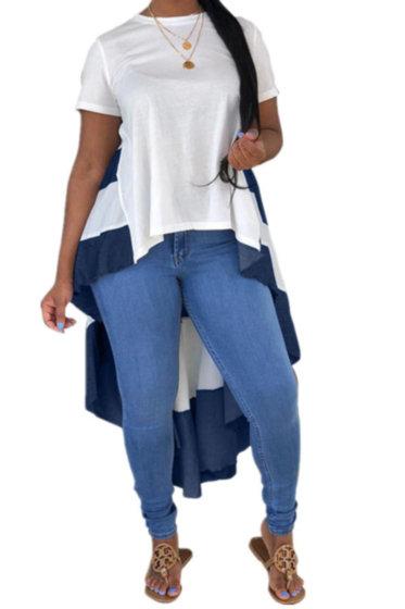 Irregular Skirt Top