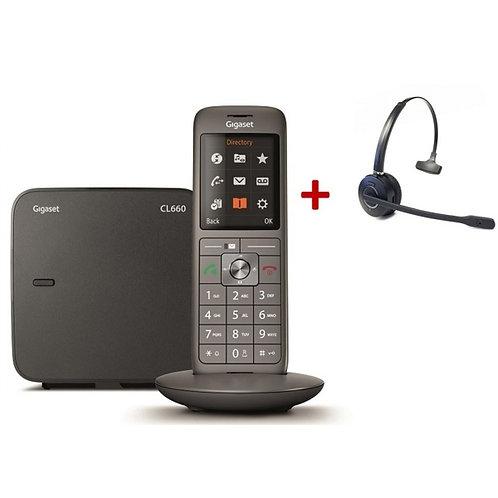 PACK  PRISMΣ / Téléphone + Micro casque DECT + Installation