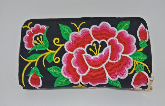 Purse with Flowers