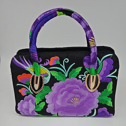 Medium Flower Pattern Handbag