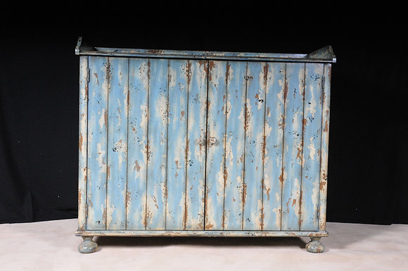 Distressed Flower Chest