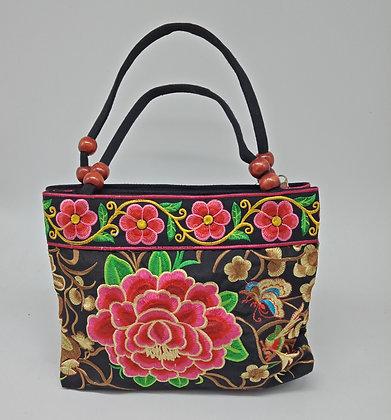 Small beaded Flower Pattern Handbag