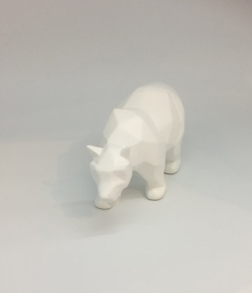 Cubist Polar Bear