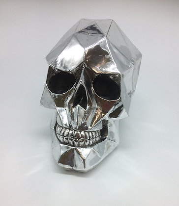 Art Deco Cubist Skull