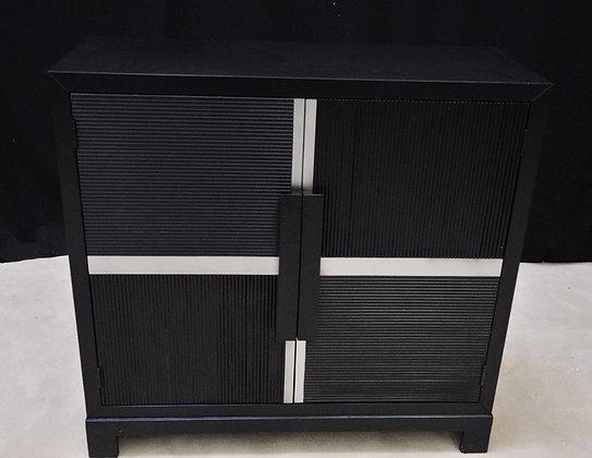 Black Carre Cupboard