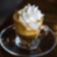 Espresso Con Panna, Espresso with whipped cream