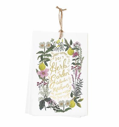 2017 Herb Garden Wall Calendar