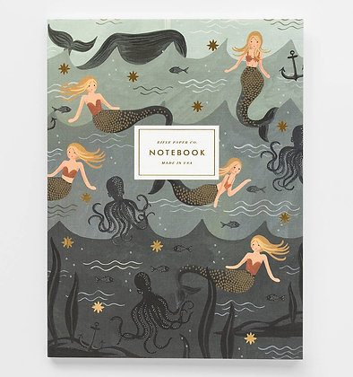 'Mermaids' Notebook by Rifle Paper Co.