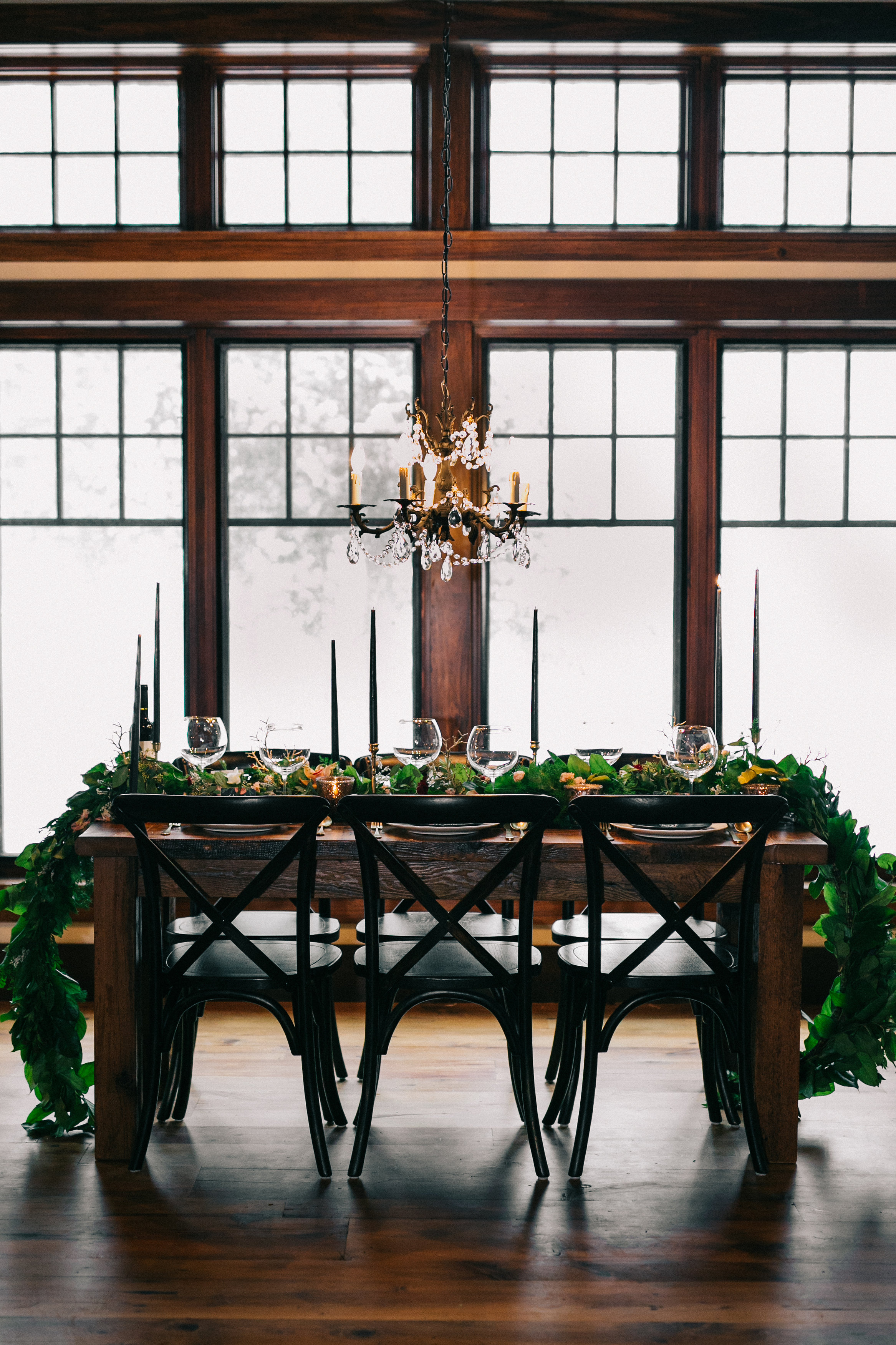 RUSTIC LUXE WEDDING TABLESCAPE