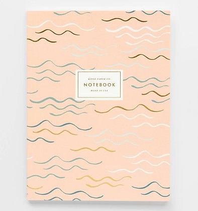 'Waves' Notebook by Rifle Paper Co.